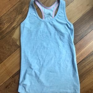North face workout tank top
